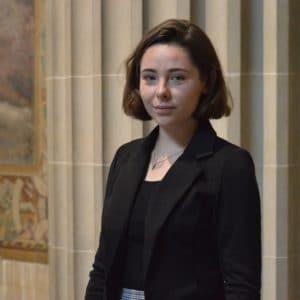 Nolween MANTÉ - Présidente de Sorbonne ONU